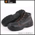 Industrial Leather Safety Boots with Steel Toe and Steel Midsole (SN5189)