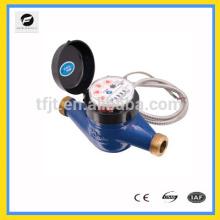 medidor de água de controle remoto com controle remoto sem fio para medir o volume de fluxo de água