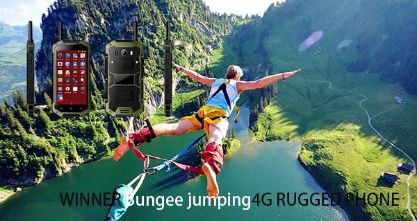 Skoki na Bungee 4G RUGGED PHONE