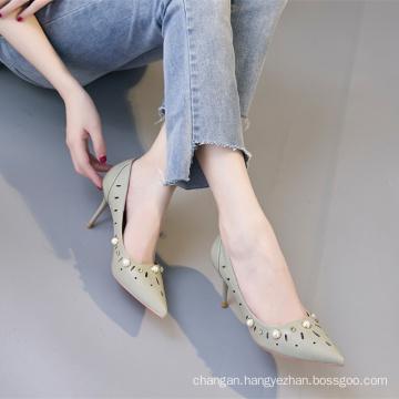 Beauty of high heels lady shoes sandal laser women shoes