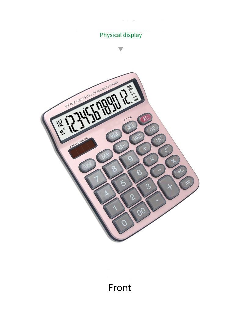 Check & correct desktop electronic calculator