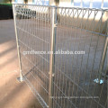 GM hot dipped galvanized fence panels, galvanized low price brc fence