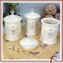 Boîte à provisions de porcelaine
