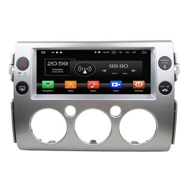Land Cruiser FJ için Android araba dvd