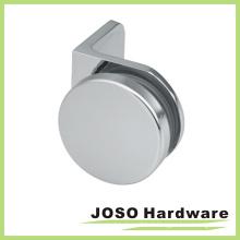 Support en laiton rond en verre de salle de douche en laiton (BH1103)