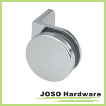 Brass Shower Room Door Round Style Glass Bracket (BH1103)