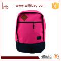 Mochila directamente de la escuela de la escuela para la mochila al por mayor de la manera adolescente