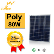 Poly Solar Panel 80W Own Factory Power System