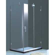 Bathroom Frameless Rectangular Simple Shower Enclosure (H011B)