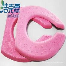 Coussin de siège de toilette couleur rose