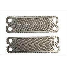 Placa intercambiadora de calor tipo placa plana Vicarb V45-G