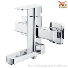 Dauble Hole Wall-Mounted Bathtub Faucet