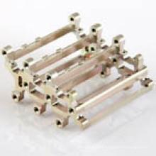 Maquinação de peças com diferentes formas