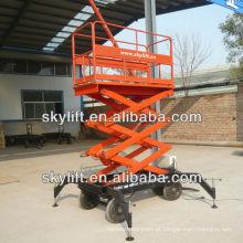 Elevador de tesoura móvel Fabricante / mini elevador de tesoura móvel