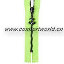 5# Brass Zipper C/E a/L Beautiful Slider