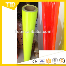 Fluorescent Green Self Adhesive Vinyl Film