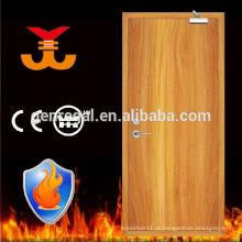 Padrão do Reino Unido BS476 60mins fogo avaliado Porta de madeira