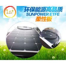 Flexibles biegsames Sunpower Sonnenkollektor-Modul 100W ETFE