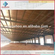 Fabricar e projetar projeto de galpão de armazém de aço industrial para venda
