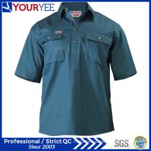 OEM ODM manga corta trabajo camisas desgaste de trabajo (yws113)
