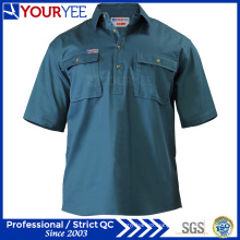 OEM ODM Short Sleeve Work Shirts Work Wear (YWS113)