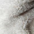 100% Polyester Cotton Sherpa Fleece Fabric
