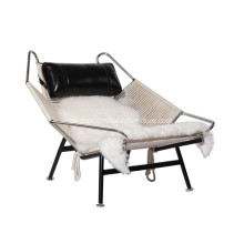 Hans Wegner PP225 Flagge Halyard Lounge Chair
