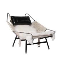 Hans Wegner PP225 Bandeira de Halyard Lounge Chair