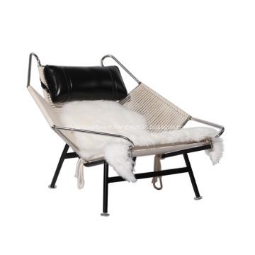 Hans Wegner PP225 Flag Halyard Lounge Chair