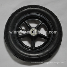 10 inch small plastic rubber tire bicycle wheels