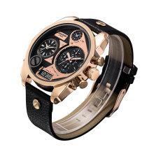 Montre Rosegold à double mouvement en or rose