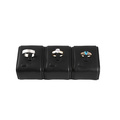 Black PU MDF Ring Display Set Organizers (RS-R3)