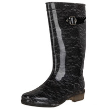 2019 horse sex women rain boots women long rubber rubber safety gumboots steel toe custom print