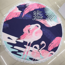 Novelty Womens Beach Towels Round Beach Blanket