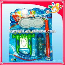 Plastic cheap bubble gun toy