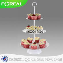 3 Tiers 15PCS Eco-Friendly Dessert Plate