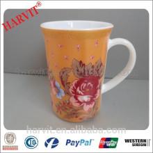 12OZ Opal Glassware Cup/Aboral Glass Mug/Decor Colored Glass Mug