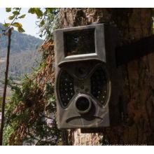 Câmera escondida ao ar livre 12MP jogo barato com preto Flash HC300A