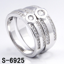 Mode Weiß 925 Silber Ehering (S-6925. JPG)