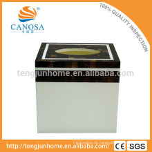 Tissue-Papier Natürliche Handwerk Penshell Tissue Box