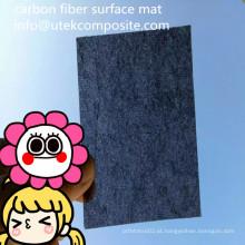 Matriz da superfície da fibra do carbono 30GSM da resistência de abrasão
