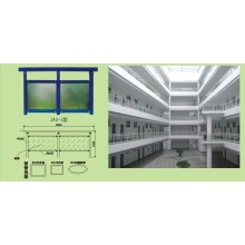 Fournisseur professionnel de balustrades de véranda en Aluminium