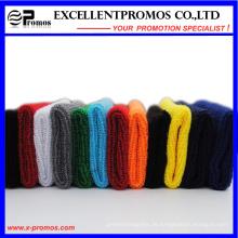 Verschiedene Farben Stickerei Baumwolle Großhandel Terry Sport Schweißbänder (EP-W9018E)
