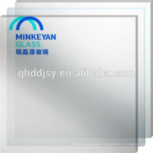 6mm-12mm milk white laminated glass for office
