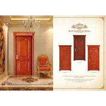 Portas modernas de madeira de teca