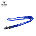 Eco-Friendly Cheap Silk Screen Printing Polyester Lanyard for Business
