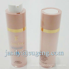 Rotary cosmetic airless bottles