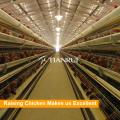 Ventas calientes un tipo jaula de pollo de la capa de aves de corral