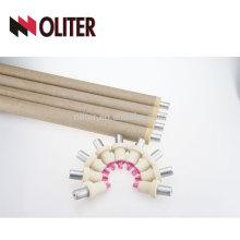 OLITER imersão rápida hotsale tipo s ponta de termopar descartable para aço fundido 604 conector triangular