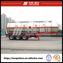 Chemical Liquid Transportation Semi-Trailer with Low Price